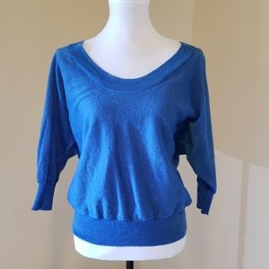 Express blue sweater